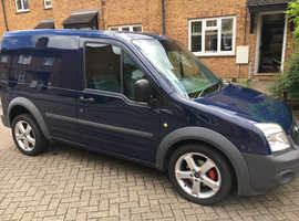 Ford transit connect 2010 blue