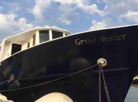 Converted Trawler Liveaboard - Grand Hustler