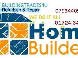 Plasterer, Tiler, Plumber, Damp proofing,Joinery, Driveways,Bathroom fitter