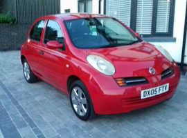 Nissan MICRA SPORT, 2005 (05) Red Hatchback, Manual Petrol, 63,061 miles