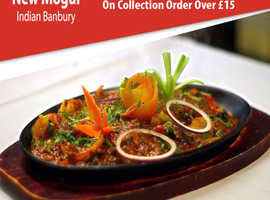 10% Discount On Collection Orders Over £15 | New Mogul Indian