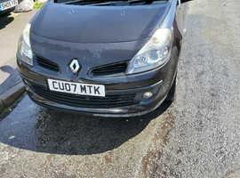 Renault CLIO DYNAMIQUE 16V, 2007 (07) Black Hatchback, Manual Petrol, 60,310 miles