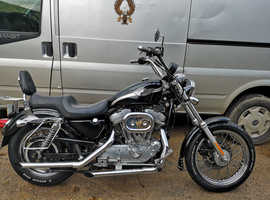 IMMACULATE 2003 HARLEY DAVIDSON XLH883 ANNIVERSARY, PRIVATE  HOG PLATE, 12036 MILES