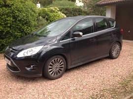 Ford C-Max, 2011 (61) black MPV, Semi auto Diesel, 81500 miles