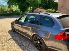 BMW 3 Series, 2008 (08) Grey Estate, Manual Diesel, 121,000 miles