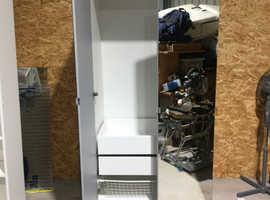 Ikea Double Wardrobe & Desk