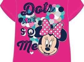 Girls Minnie Mouse T Shirt
