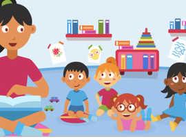Child minding and babysitting
