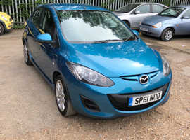 Mazda MAZDA 2, 2011 (61) Blue Hatchback, Manual Petrol, 59,101 miles