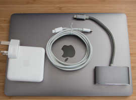MacBook Retina 12 inch, early 2016 Core m3 1.1GHz, 8GB RAM, 256GB SSD Space Grey, Excellent Condition