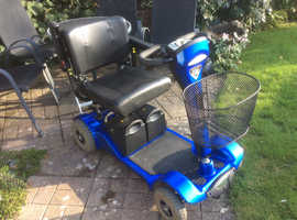 STERLING SAPPHIRE 2, 23.5 stone mobility scooter, CAR BOOT.