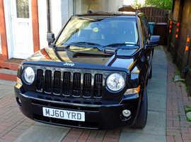 Jeep Patriot, 2010 (60) Black Estate, Manual Diesel, 48,172 miles