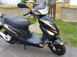2014 50 cc scooter