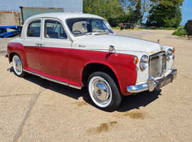 Rover P4 Rover 90 2600cc Grey over Red 1957 Stock 385