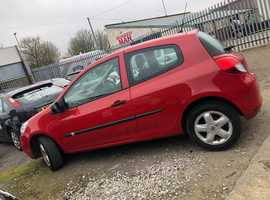 Renault Clio, 2009 (09) Red Hatchback, Manual Petrol, 123,000 miles