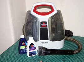 BISSELL 3698E Portable Spot Cleaner Permanently removes stains on carpets, rugs, upholstery