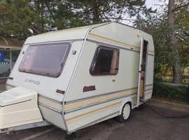 2 berth 80 retro lightweight touring caravan