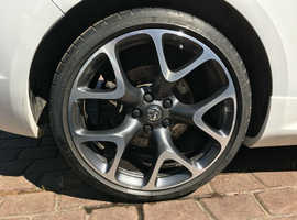 vauxhall astra gtc vxr alloy wheel/tyre 20 inch