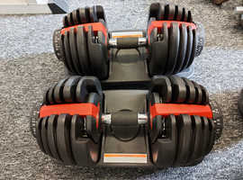 24kg Adjustable Dumbbells (pair)