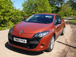 Renault MEGANE COUPE 1.6, 2010 (60) Orange Coupe, Manual Petrol, 33,500 miles