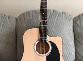 Squier electro-acoustic guitar