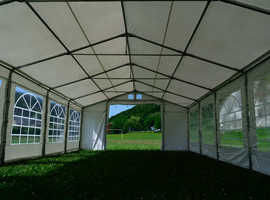 6x8m The New marquee Garden Tent Party PVC Heavy Duty Waterproof