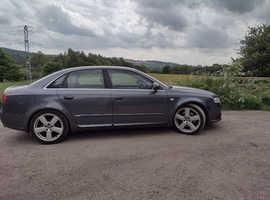 Audi A4 Type S line 2007  Grey Saloon, Manual Petrol