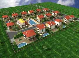 Building land for 28 villas near Sunny beach, SPRING WATER