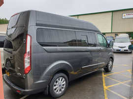FORD CUSTOM LWB LUX-XL BY WELLHOUSE 130PS 6 SPEED MANUAL IN DIFFUSED SILVER MAY BUILD