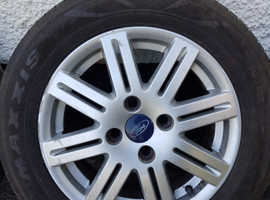 Ford Alloy Wheels and tyres