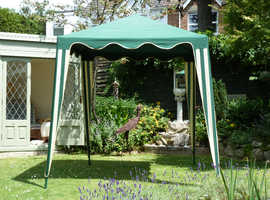 Gazebos 2mtr square nylon fabric and 3 sides