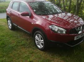 Nissan Qashqai, 2013 (62) Red Hatchback, Manual Petrol, 44,000 miles