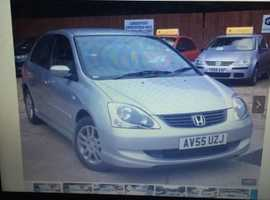 Honda civic new mot and very low mileage