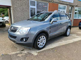 Vauxhall Antara, 2013 (13) Grey Hatchback, Automatic Diesel, 70,000 miles