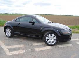 Audi TT, DSG 2004 (54) Black Coupe, Automatic Petrol, 80,000 miles