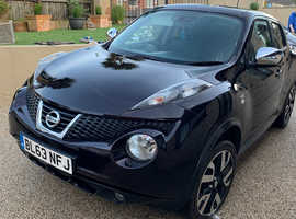 Nissan Juke, 2013 (63) Black Hatchback, Manual Petrol, 83,412 miles