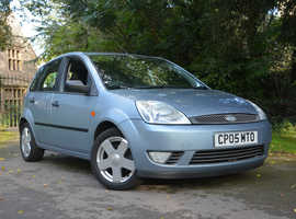 Ford Fiesta, 2005 (05) blue hatchback, Manual Petrol, 115,799 miles