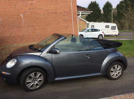 Volkswagen Beetle, 2011 (60) Grey Convertible, Manual Petrol, 73,000 miles