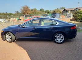 Jaguar Xf, 2008 (58) Blue Saloon, Automatic Diesel, 141,000 miles