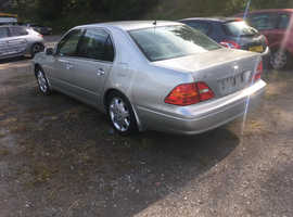 Lexus Ls, 2002 (51) Silver Saloon, Automatic Petrol, 150,000 miles