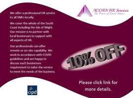About Acorn HR Services 10% off
