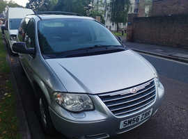 Chrysler Voyager, 2007 (56) Silver MPV, Automatic Diesel, 104,895 miles