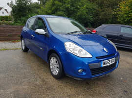 Renault Clio, 2010 (59) Blue Hatchback, Manual Petrol, 56,000 miles
