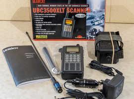 Uniden 3500 radio scanner