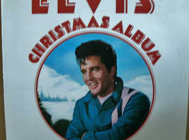 ELVIS PRESLEY - Elvis' Christmas Album - LP Record RCA Camden CDS 1155