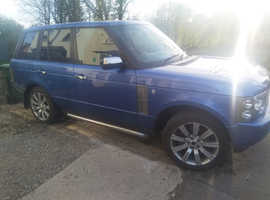 Rare blue Land Rover Range Rover, 2003  Automatic Diesel OFFERS