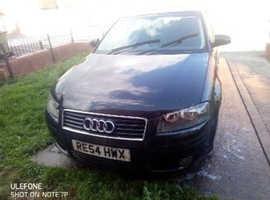 Audi A3, 2004 (54) Black Hatchback, Manual Diesel, 16,800 miles