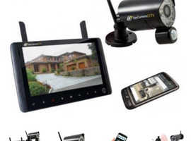 Spycamera cctv wireless camera & DVR monitor/recorder