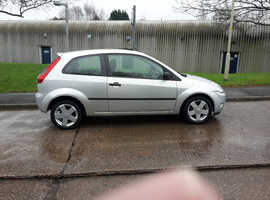 Ford Fiesta, 2006 (06) Silver Hatchback, Manual Petrol, 102,000 miles