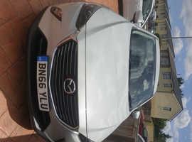 Mazda CX-3, 2016 (66) Silver Hatchback, Manual Petrol, 26,066 miles